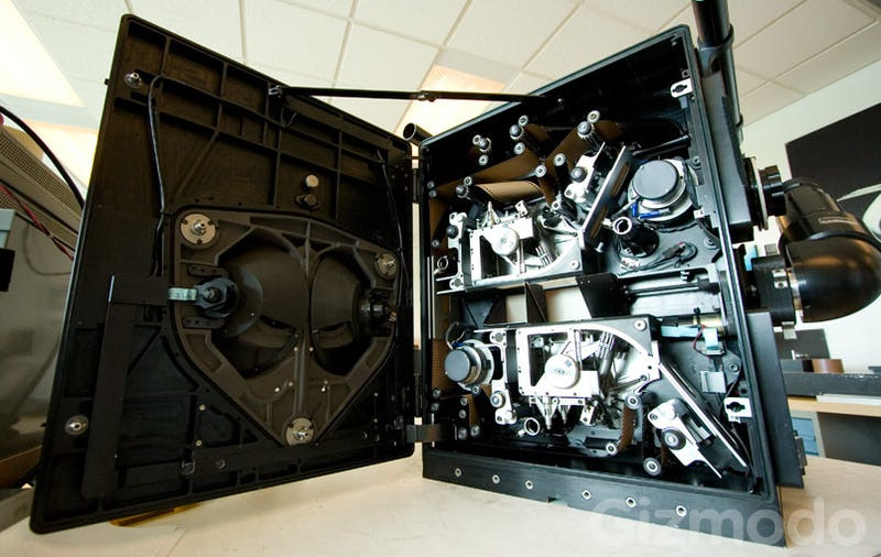 Illustration for article titled A Rare Tour of IMAX Cameras