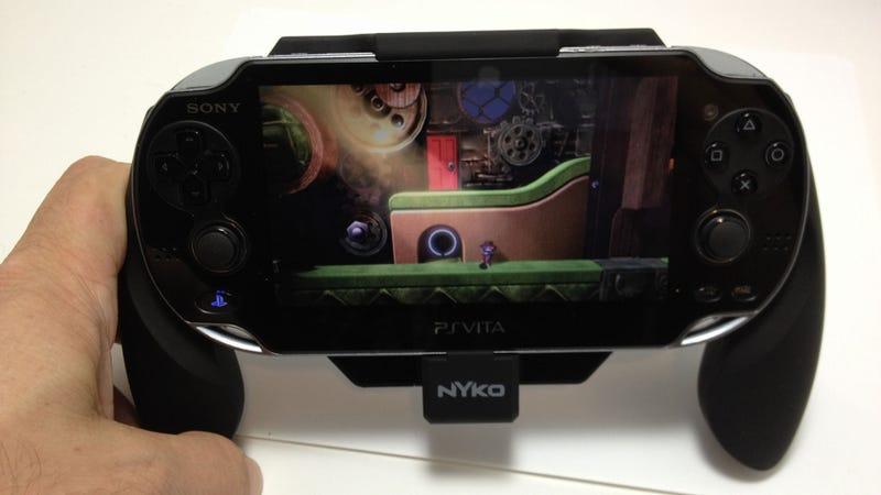 Illustration for article titled LittleBigPlanet Vita is an Excellent Reason to Pick Up a Nyko Power Grip