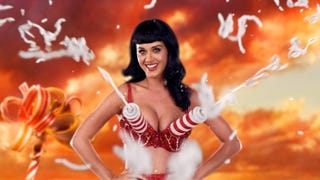 """Illustration for article titled Katy Perry: """"Speaking In Tongues Is As Normal To Me As Pass The Salt"""""""