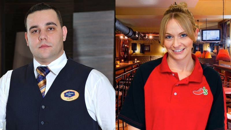 Illustration for article titled Hampton Inn Concierge Has Long Working Relationship With Chili's Hostess