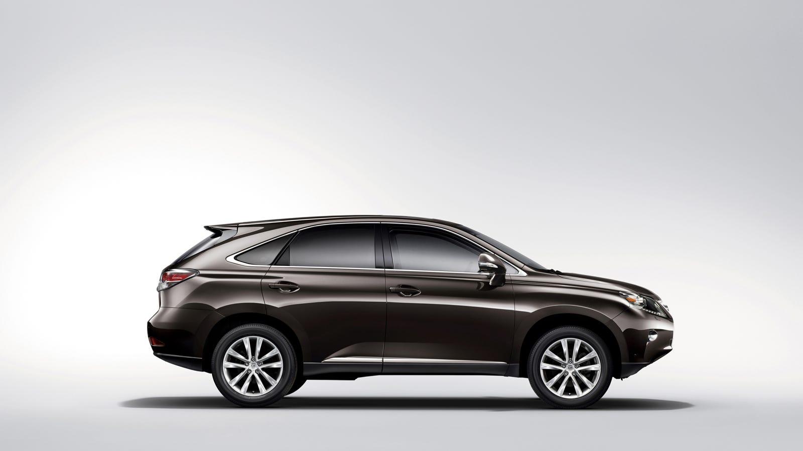 2014 Lexus RX 350 Demonstrates How Lexus Created Then
