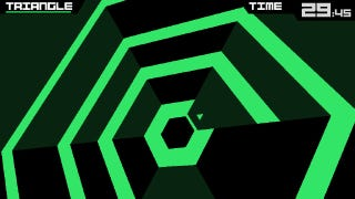 Illustration for article titled Yes, Super Hexagon has an Ending. The Creator Will Show It to You.