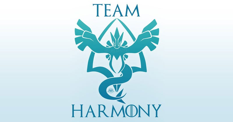 Illustration for article titled Pokémon GoFans Seek To End Cross-Faction Hostility Via Team Harmony