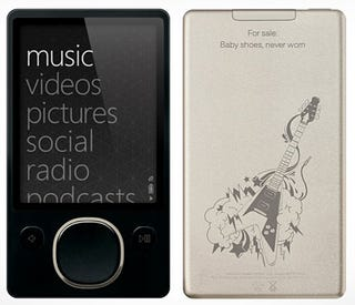 Illustration for article titled 80GB Zune Can Now Be Gussied Up with Zune Originals, Too