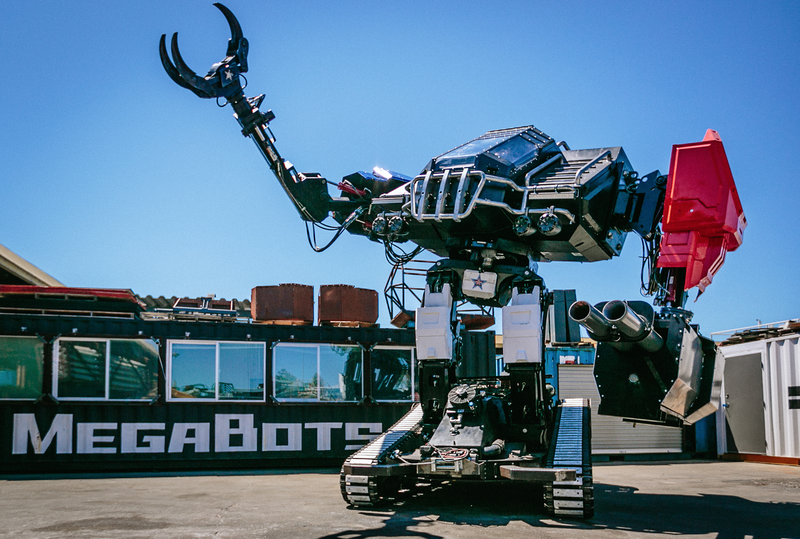 America's Giant Robot Fighter Shows Off Its Moves
