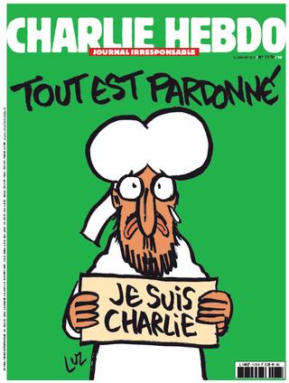 Illustration for article titled Itt a Charlie Hebdo válasza a terrorra