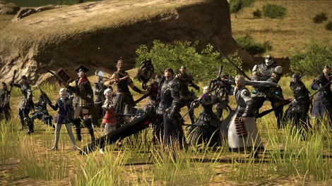 Final Fantasy XIV Lets You Run Dungeons With NPC Heroes Now, And