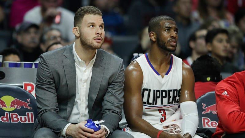 Blake Griffin Out for the Rest of the Playoffs with Toe Injury
