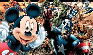 Illustration for article titled The House Of Mouse Eats The House Of Ideas: Disney Buys Marvel