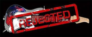 Illustration for article titled Konami: No Guitar Controller For Rock Revolution