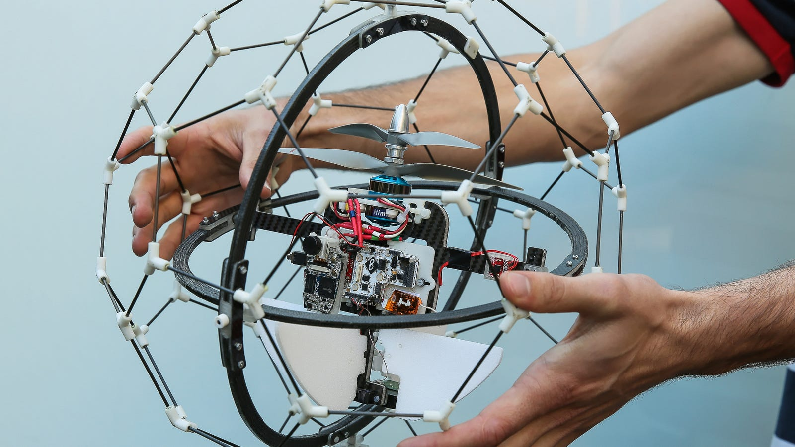 Este complejo dron se ha ganado un premio de 1 millón de dólares