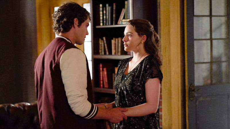 Jedidiah Goodacre and Danielle Rose Russell.