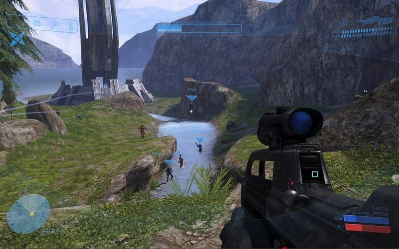 Illustration for article titled The Halo 3 HUD Desktop