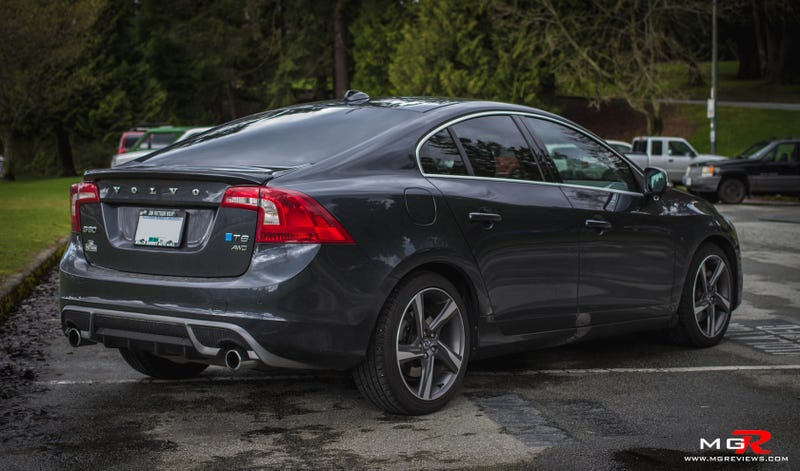 saw a volvo s60 r design today and couldn t believe how good it looked
