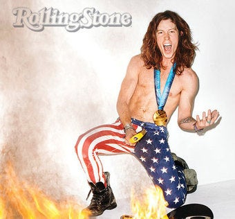 Illustration for article titled Shaun White Is On Fire