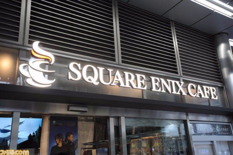 Inside Tokyo's Newest Square Enix Cafe