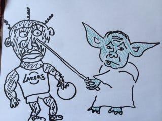 Illustration for article titled Csermanek Yoda miniszterelnök konszolidált interjút adott a pártlapnak