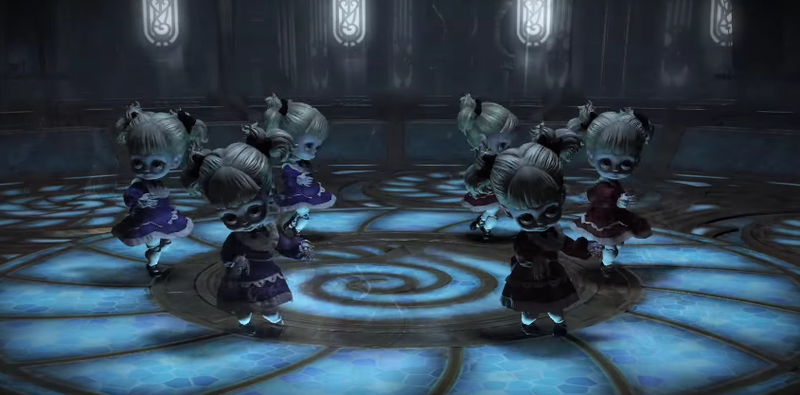 Illustration for article titled Final Fantasy IV's Creepiest Enemy Pops Up In FFXIV