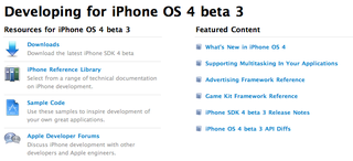 Illustration for article titled What's New In iPhone OS 4.0 Beta 3?