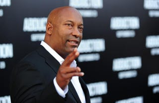 Director John Singleton at the world premiere of Abduction at Grauman's Chinese Theatre in Hollywood, Calif., Sept. 15, 2011ROBYN BECK/AFP/Getty Images