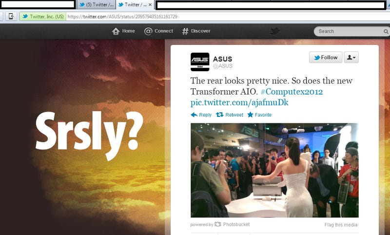 Illustration for article titled Asus Hits Bottom With Sexist Tweet