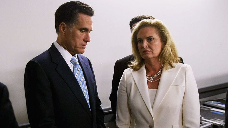 Illustration for article titled Moments Leading Up To Romney's Concession Most Likely Hilarious