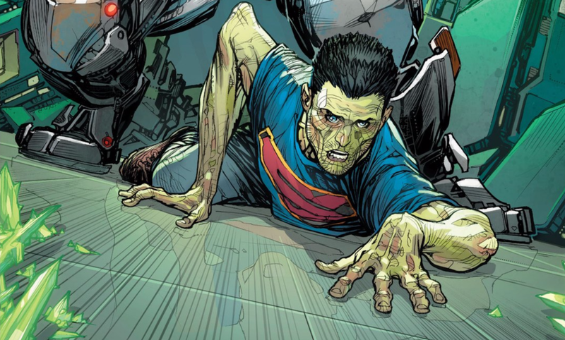 Illustration for article titled Superman's Latest Attempt at Getting His Powers Back Is Pretty Stupid
