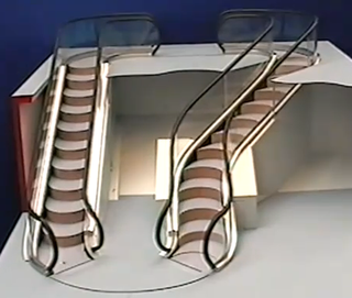 Illustration for article titled The Levytator Is A Curvy, Twisty, Bendy, Free-Forming Escalator
