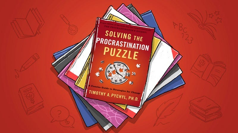 Illustration for article titled Solving the Procrastination Puzzle: A Field Guide to Finally Getting Started