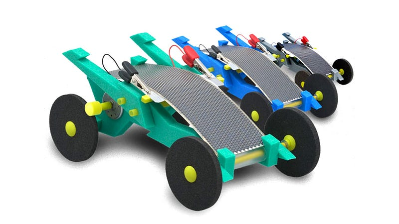 These durable foam solar racers could last and run forever for How to make a solar panel for kids