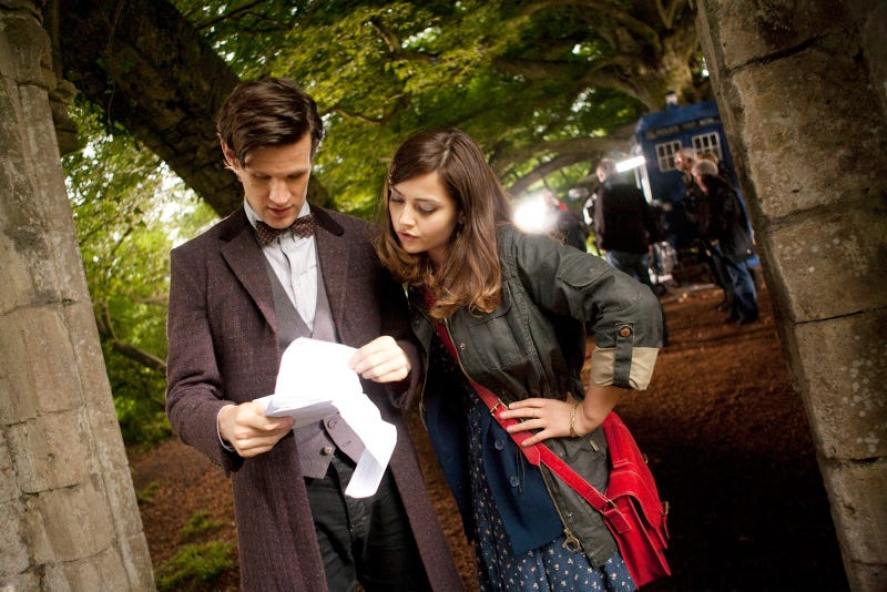 Illustration for article titled Third Matt + Jenna Pic From Doctor Who
