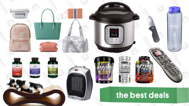 Illustration for article titled Friday's Best Deals: Razer DeathAdder, Resistance Bands, Instant Pot, And More