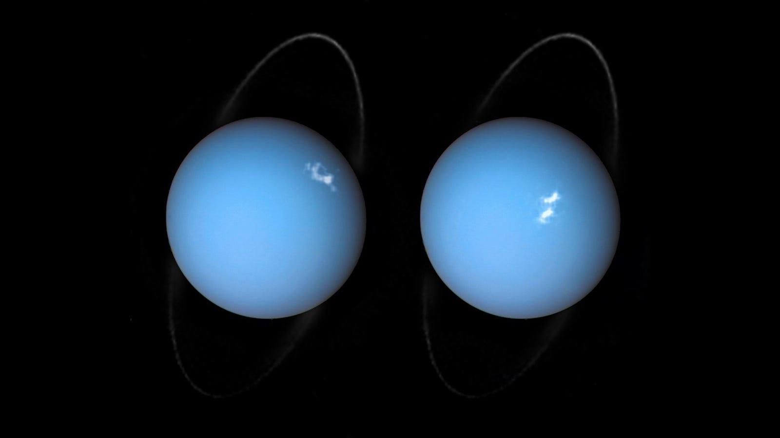 Did Something Massive Smash Into Uranus? LOL