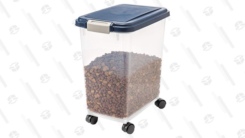 IRIS Airtight Pet Food Storage | $15 | Amazon
