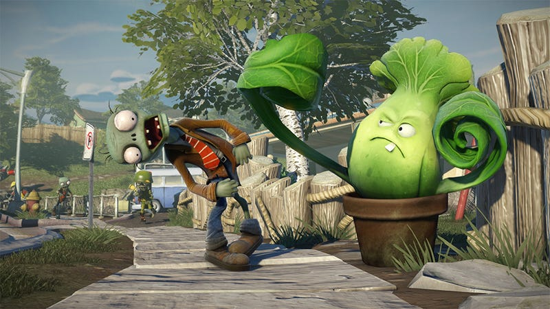 plants vs zombies garden warfare has arrived on the xbox one and xbox 360 with gameplay unlike anything the series has ever seen - Plants Vs Zombies Garden Warfare Xbox 360