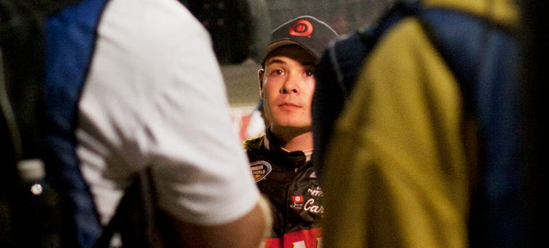 Illustration for article titled We Asked A NASCAR Rising Star How He'd Prefer His Dick Slammed In A Door