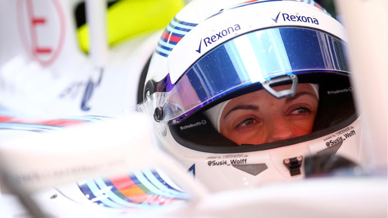 Illustration for article titled Susie Wolff May Leave Williams F1 Test Role Over Lack Of Seat Time