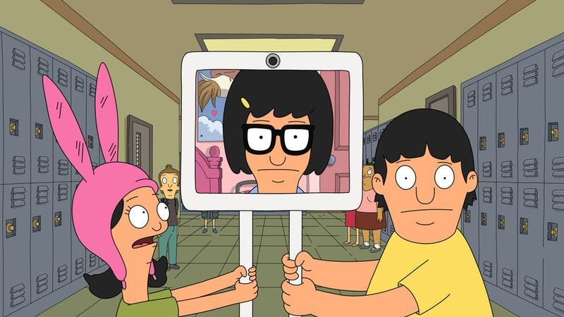 Illustration for article titled Bob's Burgers gets Jimmy Jr. to open up, and all it takes is a robot