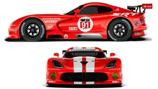 Illustration for article titled Viper Race Cars Are Once Again Dodges And Have A Kickass Retro Livery