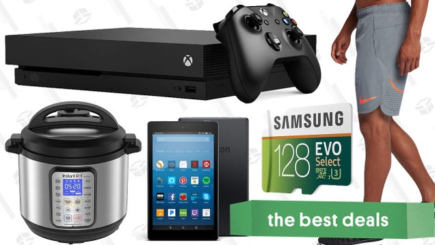Sundays best deals xbox one sales instant pot nike clearance microsofts e3 discounts a family sized instant pot and one of our favorite microsd cards lead off sundays best deals from around the web fandeluxe Choice Image