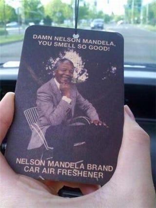Illustration for article titled Nelson Mandela Smells So Damn Good!