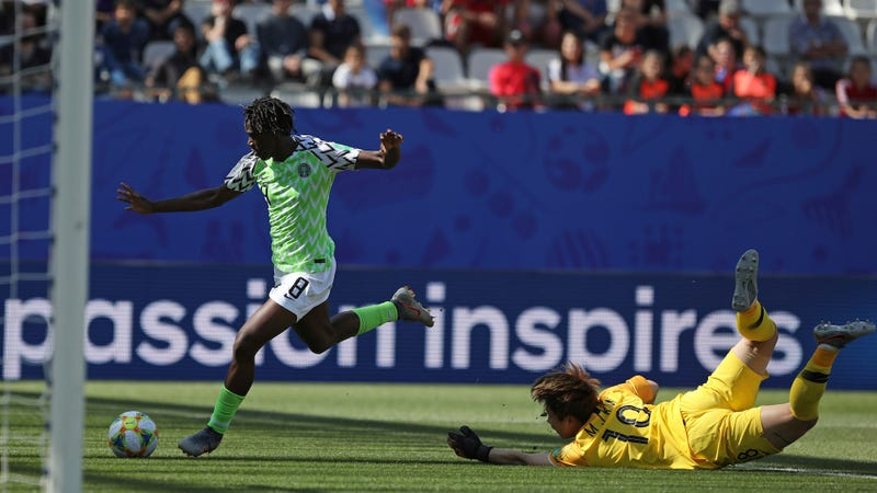 Illustration for article titled Nigeria's Asisat Oshoala Finally Shows The World Who She Is