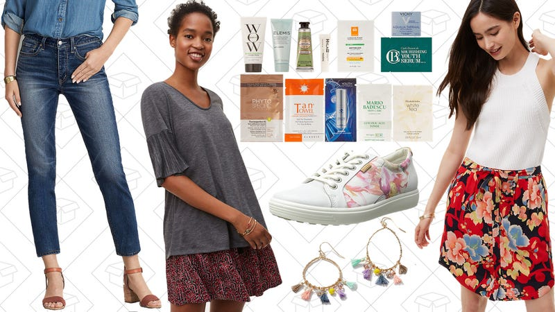Illustration for article titled Today's Best Lifestyle Deals: ECCO Shoes, American Eagle, Amazon Beauty Box, LOFT, and More