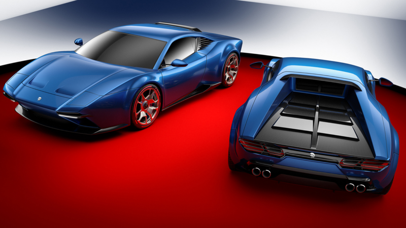 Illustration for article titled The Only Kit Car Worth Money Is A Lamborghini Huracan Built To Look Like The DeTomaso Pantera