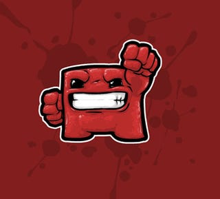 Illustration for article titled SMB Coming To WiiWare - Super Meat Boy