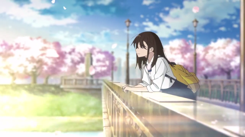 """Illustration for article titled Here it is the new teaser of the movie """"Let me Eat your Pancreas"""""""