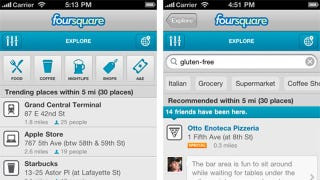 Illustration for article titled Foursquare 3 Makes Finding Recommended Spots Easier