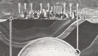 Illustration for article titled A 1969 plan to build a second, nuke-proof Manhattan below New York City
