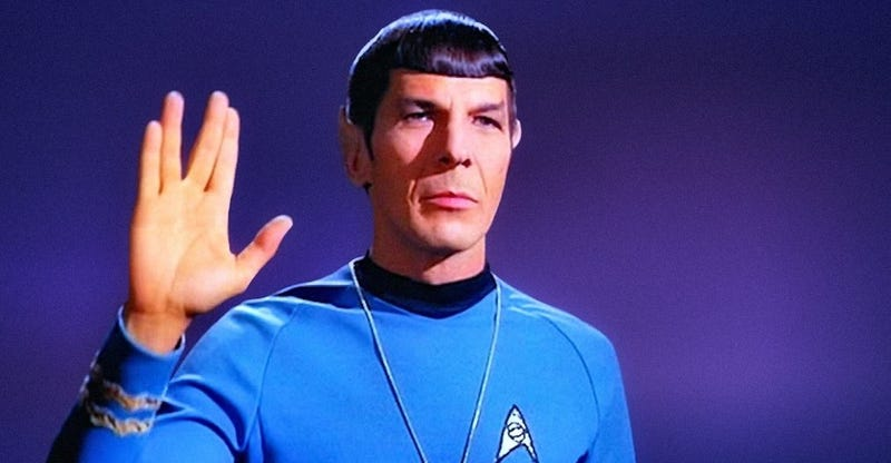 Illustration for article titled Cómo usar el emoji del saludo vulcano de Star Trek en un iPhone o iPad