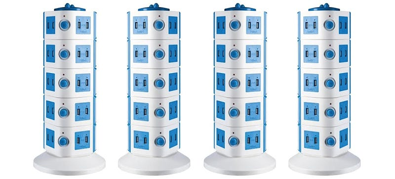 Illustration for article titled This Tower Of Power Gives You 40 USB Ports For Charging Everything